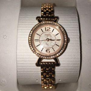 Fossil Women's Rose Gold Watch